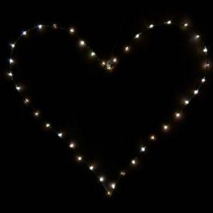 LED DESIGN Heart Shaped Hanging Light Decor